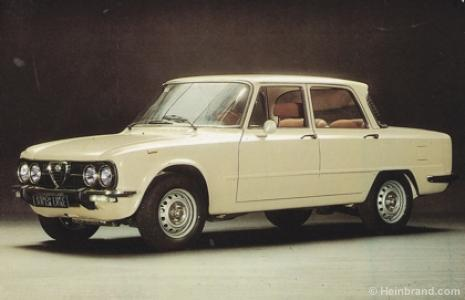 spare parts for Alfa Romeo Giulia Super Nuova - Hein Brand